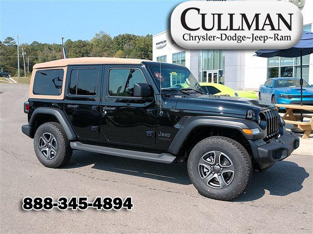 New 2020 JEEP Wrangler Black and Tan 4x4