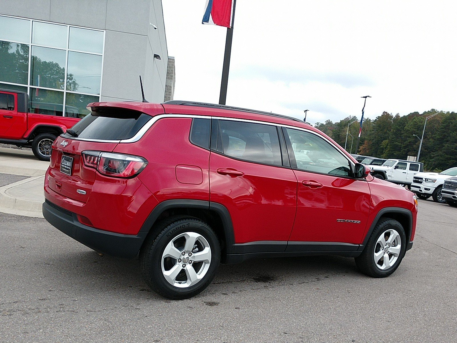 Certified Pre-Owned 2018 Jeep Compass Latitude