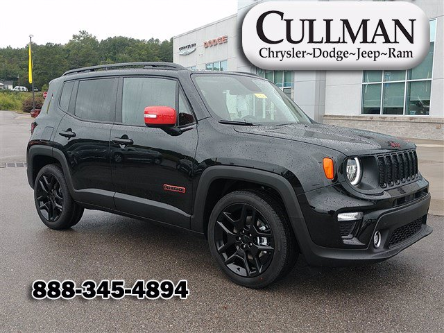 New 2020 JEEP Renegade Orange Edition